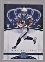 2017 Panini Crown Royale #86 Mike Williams Chargers Rookie