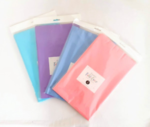 3 Pack - Pastel Plastic Table Cover Cloth Wipe Clean Party Tablecloth Covers UK