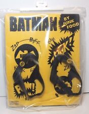 New Baby Gap Junk Food Batman Limited Edition Flip Flops Toddler Boys 7T/8T