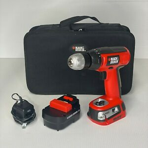 Black & Decker BDGL1200 12V Cordless Drill/Driver w/ 3 Way Laser Level Tested