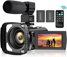 Video Camera Camcorder for YouTube, FHD 1080P 30FPS 24MP Digital Vlogging...