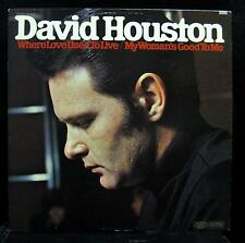 David Houston - Where Love Used To Live LP VG+ BN-26432 1st Epic Vinyl Record