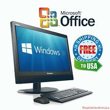 """Lenovo M92z 20"""" HD All in One Desktop Computer PC Core i5 4GB 250GB Windows 10"""