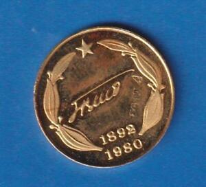 GOLD  coin Tito 1980  - 2,5 grama   ko 202