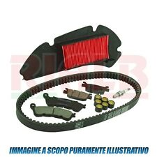 Filtri + Pastiglie + Candele + Cinghia + Rulli RMS 163820200 Yamaha T-Max 2004