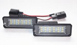 LED Kennzeichenbeleuchtung für VW Golf 4 5 6 7 Passat B6 B7 Lupo Polo 6R Arteon