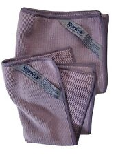 Norwex Textured Kitchen Towel And Cloth Amethyst