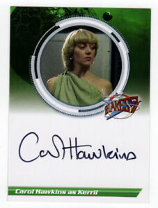 Blakes 7 Series  Carol Hawkins as Kerril Autograph Auto Card - S2CH