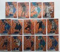 2019-20 Panini Mosaic 14 CARD ORANGE REACTIVE PRIZM LOT Karl Malone Terry Rozier
