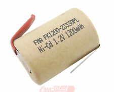 2x Ni-Cd 4/5Sub C SC 1.2V 1200mAh Rechargeable Battery for Power tools toys U/R