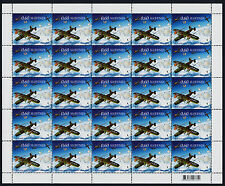 Slovenia 1038 Sheet MNH - Aircraft, Rescue of Allied Airmen, WWII
