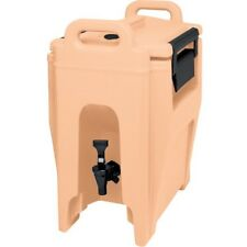 Cambro Uc250157 Ultra Camtainer 2.75 Gallon Coffee Beige Insulated Beverage