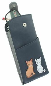Mala Leather Best Friends Collection Leather Glasses Case 5169_65