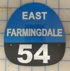 East Farmingdale 54 FIRE HELMET SHIELD