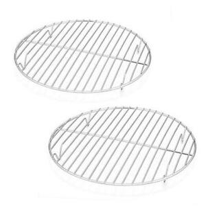 Chrome-Plated Steel Wire Anderson/'s Baking 43193 Professional Baking and Cooling Rack 6-Inches Round Mrs