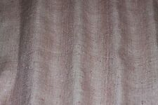 "Pink Matka Woven 100% Matka/Tassah Raw Silk, 44"" Wide, By The Yard (WT-3003)"