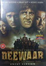 DEEWAAR - SANJAY DUTT BOLLYWOOD ORIGINAL DVD - FREE UK POST
