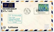 FFC 1970 Lufthansa Volo Speciale ONU United Nations FREEDOM New York Progress