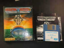 1990 Operation Harrier CBM Amiga A-500, A100,0 A2000 Made in UK Import
