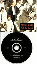MICHAEL NYMAN In Re Don Giovanni 1994 Made in EUROPE PROMO DJ CD Single MINT