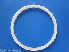 """Large 8 1/2"""" diameter Rubber Gasket Seal for Hakka 33 lb Sausage Stuffer Press"""