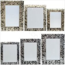 Vintage Shabby Chic Metal Photo Picture Frames Free Standing Home Decor Gift
