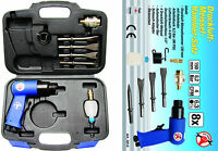 "BGS Germany Kraftsmann 8-pcs 1/4""Air Jack Hammer Chisel Kit Top Quality Blowmold"