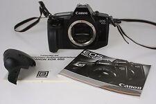 Canon EOS 650AF Gehäuse mit 2. Auslösehandgriff für Fernauslöser #1278088