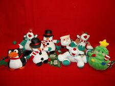 lot of 8 Rare 1997 Lumpy's Bean Bag Gang,Holiday Collection Stuffings    653