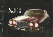 JAGUAR XJ 3.4/4.2 Instructieboekje 1975 Dutch hanbook Manuel BA