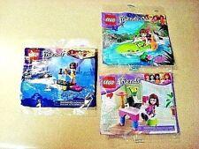 Lego Friends # 30102 Olivia laptop # 30115 Jungle boat # 30205 Andrea - New!