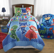 PJ Masks Bed ina Bag Bedding Set Twin Size Machine Washable Reversible Comforter