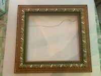 Antique Large Gesso Berry on Wood Ornate Picture Frame