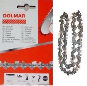 "Sierra de cadena adecuado para dolmar 260 35 cm 3//8/"" 1,3 mm 52 TG halbmeißel Chain"