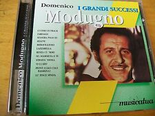 DOMENICO MODUGNO I GRANDI SUCCESSI  CD MINT-  MUSICATUA
