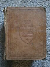 RARE Webster's Imperial Dictionary LEATHER BOUND 1909 Large