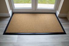 BEST Commercial Brush Entrance Mat Natural Rubber Edge 70cm x 180cm UK Floor Mat