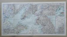 Gelbes Meer Mandschurei Mukden China Korea Tschi-Li Liau-yang  LANDKARTE  1908