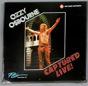 Ozzy Ozbourne Transcription Disc RKO Radio LPs-Captured Live-Sealed-Mint-83-LKVR