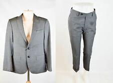169f795fa72bf CAROLINA HERRERA Grey 100% Wool Suit, UK 36 US 36 EU S/M