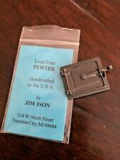 Jim Ison Rare Pewter Oven Door 1:12th Scale