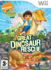 go diego go great dinosaur rescue wii