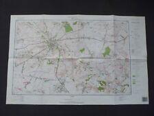 Landkarte Polen Meßtischblatt 144.44 Opatów, Woiwodschaft Tarnobrzeskie, 1995