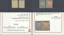Croatia 1918 Surcharge - MNH Stamps + Certificate D439
