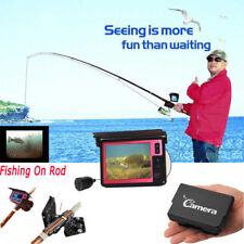 "3.5"" Portable FishFinder Waterproof Fishing Camera Video Recorder Underwater Cam"