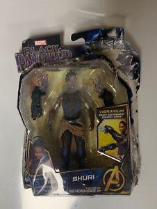 Marvel Black Panther Shuri 6-inch Action Figure Avenger Vibranium Gear