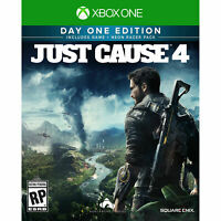 Just Cause 4 XB1 Xbox One Day 1 Limited Edition Brand New