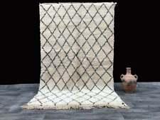 Beni rug 5x8 ft handmade rug natural wool