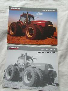 @Case IH MX Maxxum  Tractor Brochure & Technical Data@