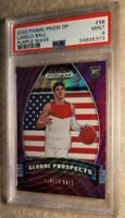 2020 Purple Wave LaMelo Ball 98 Global Prospects Charlotte Hornets Rookie PSA 9